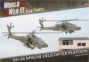 AH-64 Apache Helicopter Platoon (x2 Plastic)