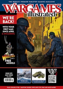 WARGAMES ILLUSTRATED WI391, July 2020