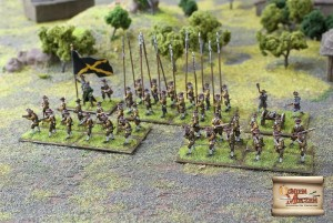 GERMAN MERCENARY INFANTRY - NEW ENLISTMENT