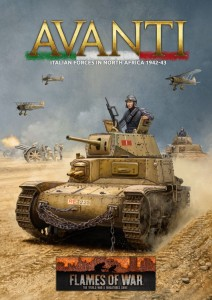 ARMY BOOK - AVANTI (MID WAR ITALIAN HARDBACK BOOK)