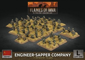 Engineer-Sapper Company (x67 Figs Plastic)