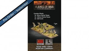 82mm and 120mm Mortar Company (Plastic)