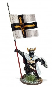 ORDENSSTAAT WAR BANNER & BEARER (FOOT)