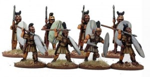 Republcian Roman Hastati (Warriors)