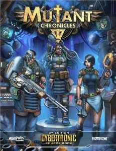Mutant Chronicles: Cybertronic Sourcebook
