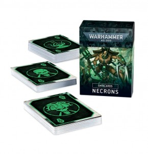 DATACARDS: NECRONS (ENGLISH) - 9th EDITION