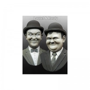Laurel and Hardy BUST