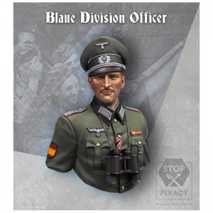 BLAUE DIVISION OFFICER BUST