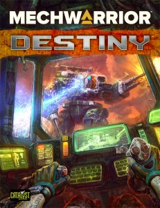BattleTech MechWarrior Destiny RPG - EN