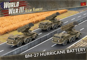 BM-27 Hurricane Rocket Launcher Battery
