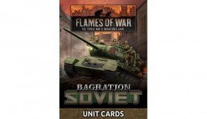 Bagration: Soviet Unit Cards (67x Cards)