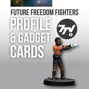 FUTURE FREEDOM FIGHTERS PROFILE CARDS
