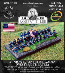 3 Union Infantry Brigades (Western Theater)