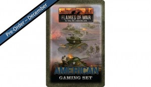 Flames of War American Tin (x20 Tokens, x2 Objectives, x16 Dice)