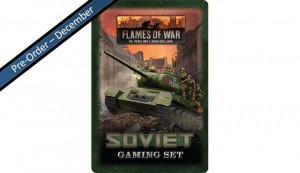 Flames of War Soviet Tin (x20 Tokens, x2 Objectives, x16 Dice)