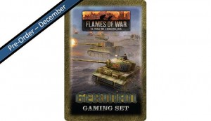 Flames of War German Tin (x20 Tokens, x2 Objectives, x16 Dice)