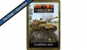 Flames of War Waffen-SS Tin (x20 Tokens, x2 Objectives, x16 Dice)