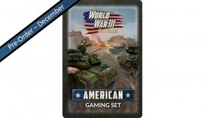 Team Yankee American Tin (x20 Tokens, x2 Objectives, x16 Dice)