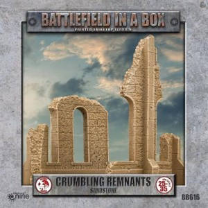 Gothic Battlefields - Crumbling Remnants - Sandstone