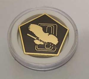 BattleTech Faction Challenge Coins: Clan Jade Falcon