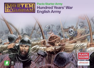 Mortem et Gloriam Hundred Years War English Pacto Starter Army