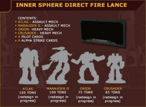 BattleTech: Inner Sphere Direct Fire Lance