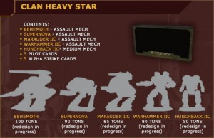 BattleTech: Clan Heavy Star