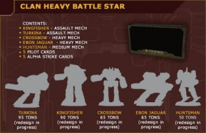 BattleTech: Clan Heavy Battle Star