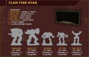 BattleTech: Clan Fire Star