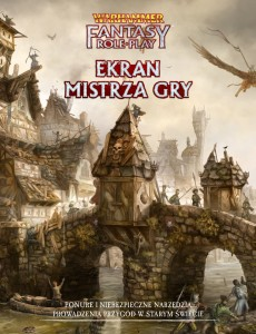 Ekran Mistrza Gry: Warhammer Fantasy Roleplay Fourth Edition