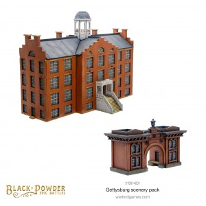 Black Powder Epic Battles: ACW Gettysburg Scenery Pack