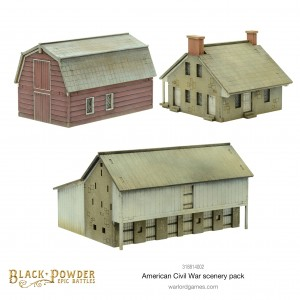Black Powder Epic Battles: ACW American Civil War Scenery Pack