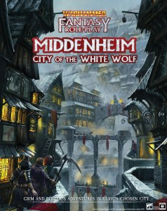 Middenheim City of the White Wolf: Warhammer Fantasy Roleplay