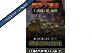 Bagration: German Command Cards (55x Cards)