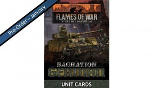 Bagration: German Unit Cards (70x Cards)