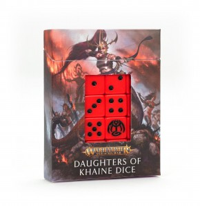 DAUGHTERS OF KHAINE DICE SET [OOP]