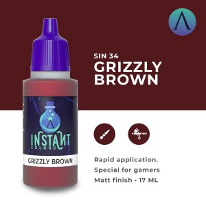 Scale75 Instant Colors - GRIZZLY BROWN