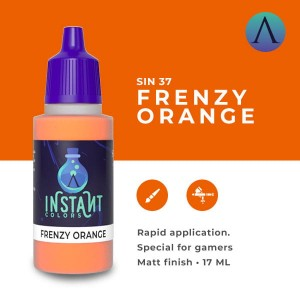 Scale75 Instant Colors - FRENZY ORANGE