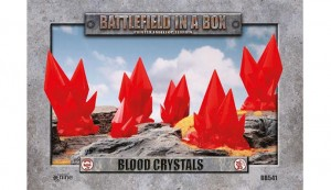Blood Crystals - Red - (x6)