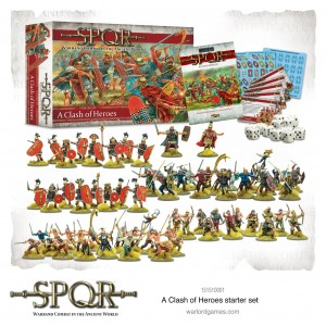 SPQR: CLASH OF HEROES STARTER SET (REVISED EDITION)