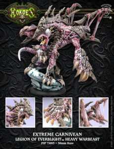 LEGION ' EXTREME ' CARNIVEAN  INC RESIN