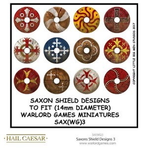SAXONS SHIELD DESIGNS 3