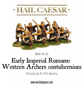 EARLY IMPERIAL ROMAN WESTERN AUXILIARY ARCHERS