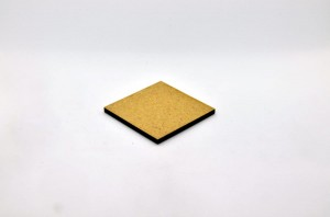 HDF BASE 40x40mm SQUARE (1 piece)