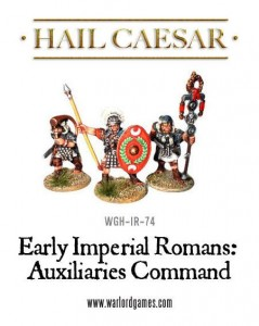 EARLY IMPERIAL ROMAN AUXILIARY COMMAND PACK