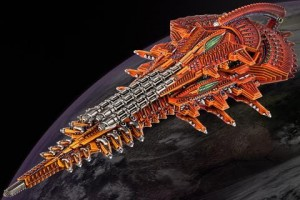SHALTARI DIAMOND/ PLATINUM BATTLESHIP