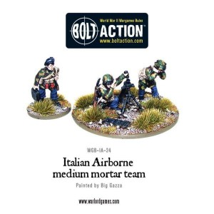 Italian Airborne medium mortar team