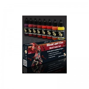 SCALE 75 PAINT SET - BLOOD AND FIRE COLORS