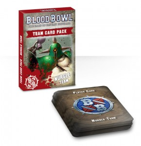 BLOOD BOWL: NURGLE TEAM CARDS (ENGLISH)