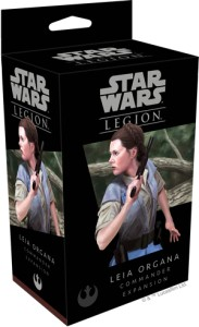 STAR WARS: LEGION LEIA ORGANA COMMANDER
